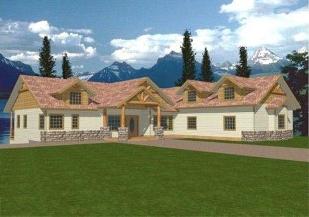 Craftsman, Traditional House Plan 87097 with 4 Beds, 3.5 Baths, 3 Car Garage Elevation