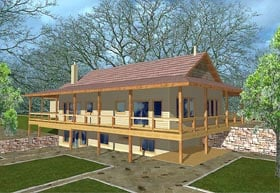 Traditional House Plan 87099 Elevation