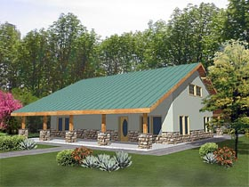 House Plan 87101 Elevation