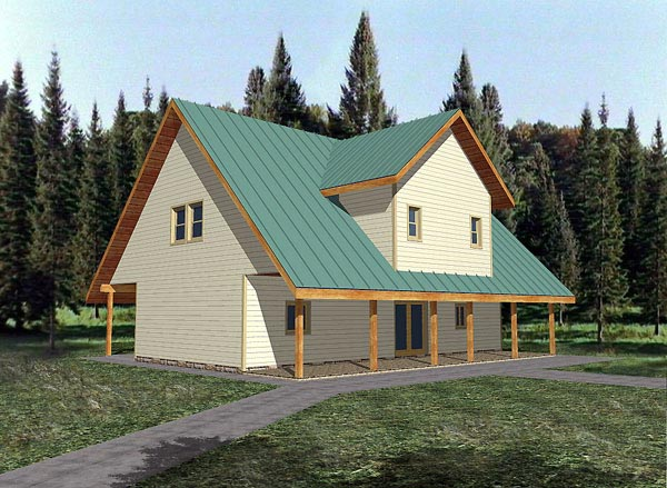Country House Plan 87107 Elevation