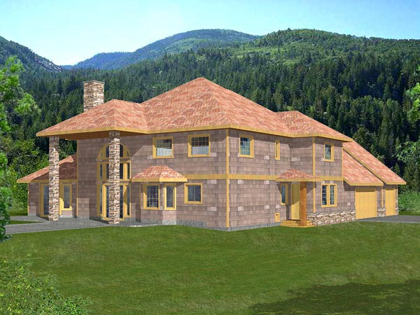 Traditional House Plan 87113 Elevation