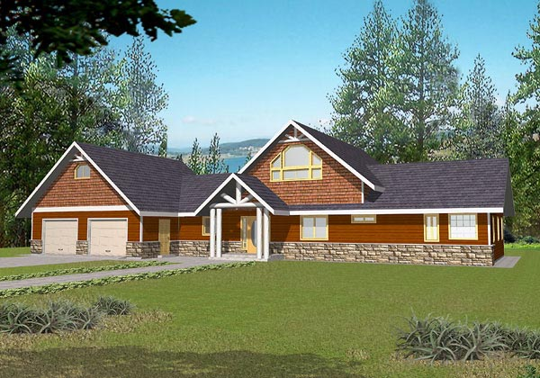 Traditional House Plan 87118 Elevation