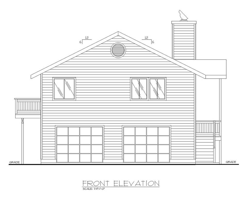 One-Story, Ranch House Plan 87124 with 3 Beds, 2.5 Baths, 2 Car Garage Picture 3