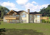Plan Number 87126 - 4286 Square Feet