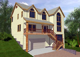 Plan Number 87152 - 2592 Square Feet