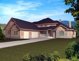 Traditional House Plan 87161 Elevation
