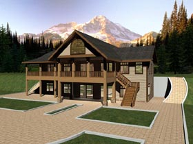 Country House Plan 87167 Elevation