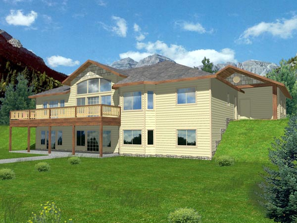 Contemporary House Plan 87179 Elevation