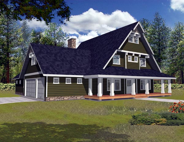 Traditional House Plan 87184 Elevation