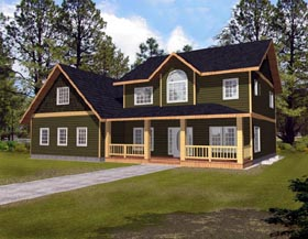 Country House Plan 87188 Elevation