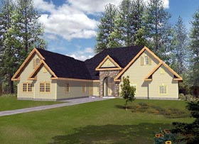 Traditional House Plan 87193 Elevation