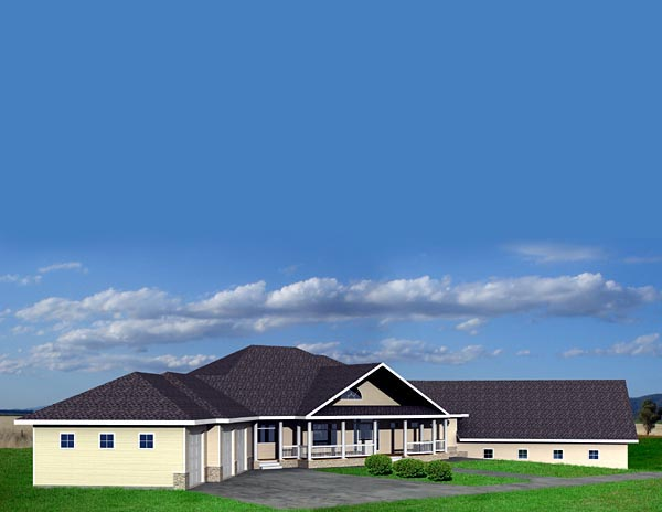 Traditional House Plan 87211 Elevation