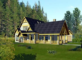 Traditional House Plan 87218 Elevation