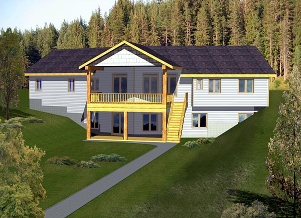 House Plan 87220 Elevation