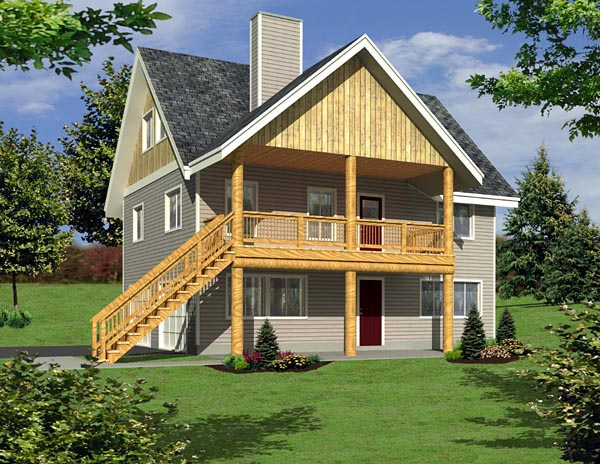 Traditional House Plan 87226 Elevation
