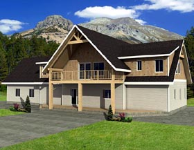 Traditional House Plan 87232 Elevation