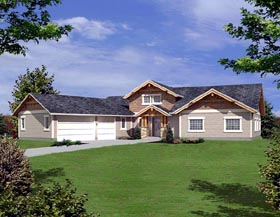 Ranch House Plan 87237 Elevation