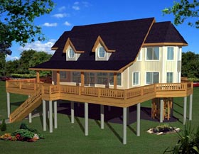 Traditional House Plan 87244 Elevation