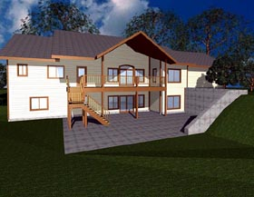 Contemporary House Plan 87248 Elevation