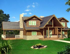 Traditional House Plan 87251 Elevation