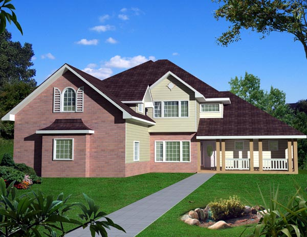 Traditional House Plan 87261 Elevation