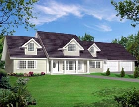 Traditional House Plan 87266 Elevation