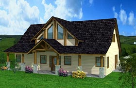 Contemporary House Plan 87270 Elevation
