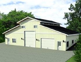 Garage Plan 87275 Elevation