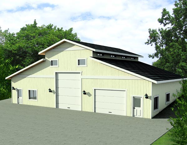 Garage Plan 87275 Elevation
