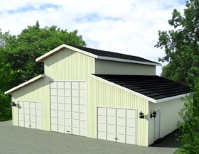 Garage Plan 87277 Elevation