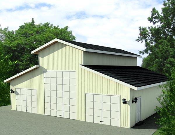 Garage Plan 87277 Elevation