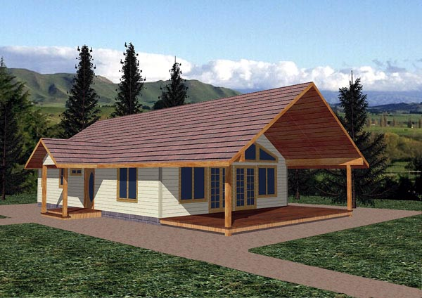 Ranch House Plan 87278 Elevation