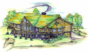 Contemporary House Plan 87279 Elevation