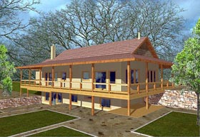 Traditional House Plan 87280 Elevation