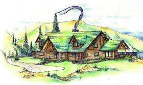 House Plan 87281 with 3 Beds, 3 Baths Elevation