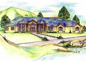 Victorian House Plan 87289 Elevation