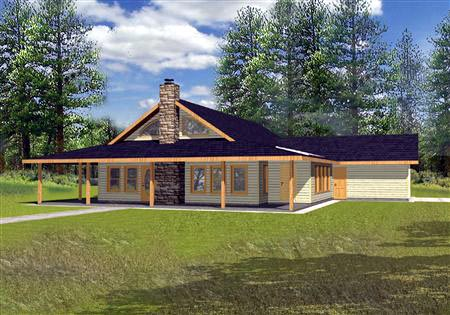 Traditional House Plan 87291 Elevation
