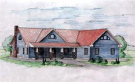Traditional House Plan 87292 Elevation