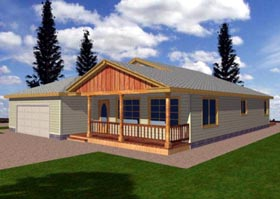 Traditional House Plan 87296 Elevation
