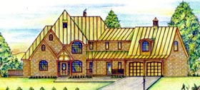 Victorian House Plan 87297 Elevation