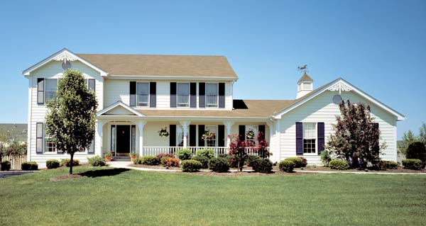 Traditional House Plan 87301 Elevation