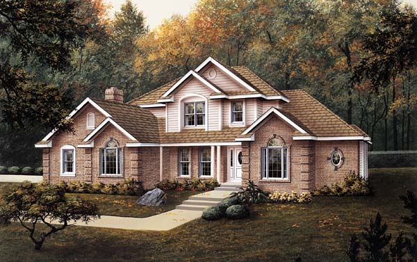 Traditional House Plan 87306 Elevation
