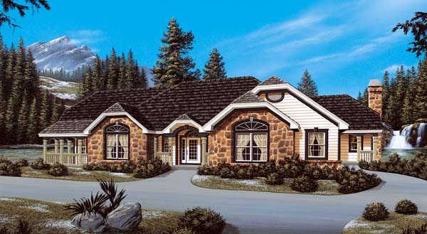 Traditional House Plan 87310 Elevation