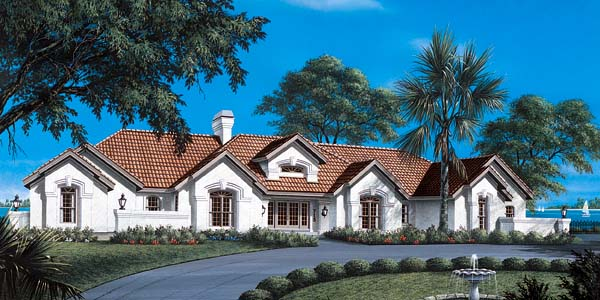 Mediterranean House Plan 87312 Elevation