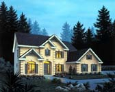 Plan Number 87313 - 3169 Square Feet
