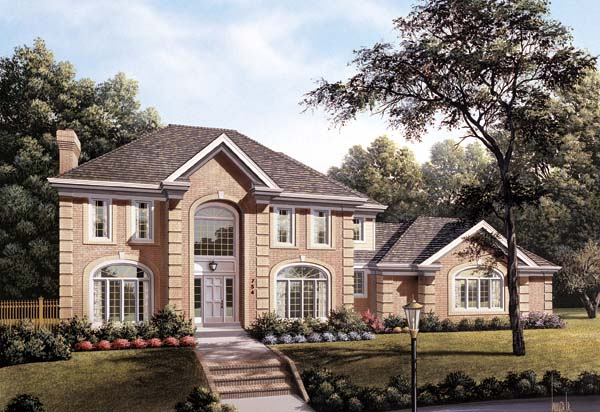 Traditional House Plan 87316 Elevation