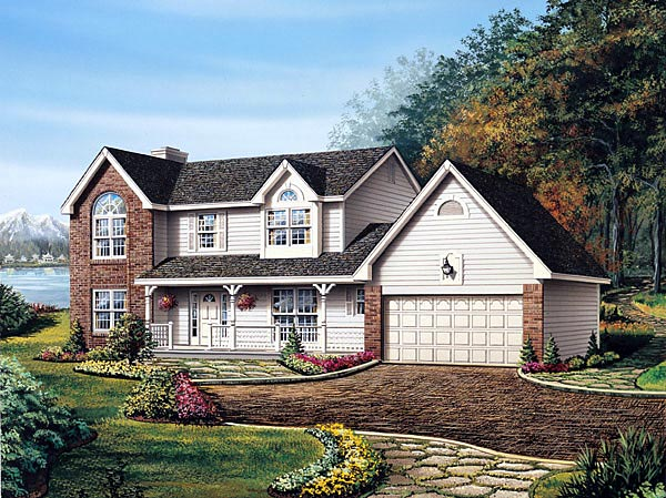 Traditional House Plan 87318 Elevation