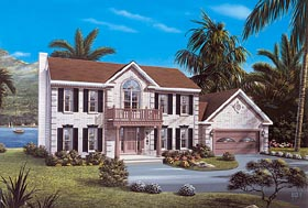 Plan Number 87321 - 2411 Square Feet