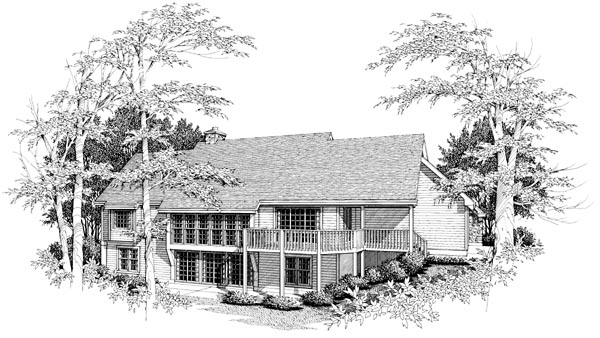 Country House Plan 87335 Elevation