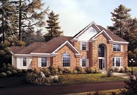 European House Plan 87337 Elevation